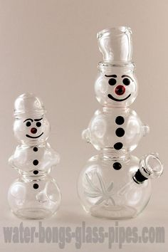 Snowman Pipe and Bong Set - Limited Edition #snowmandesign ...