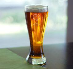 Lucky Pilsner Glass #theweddingoutet