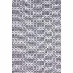 @Overstock.com - nuLOOM Handmade Flatweave Moroccan Trellis Navy Cotton Rug (5' x 8') - Inspired from Moroccan patterns, this trellis rug is handmade with cotton fibers to enhance any home decor. These rugs are flat woven which means that they do not have a pile.  http://www.overstock.com/Home-Garden/nuLOOM-Handmade-Flatweave-Moroccan-Trellis-Navy-Cotton-Rug-5-x-8/6830374/product.html?CID=214117 $76.42