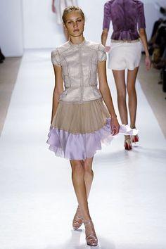 J. Mendel Spring 2006 Ready-to-Wear Fashion Show - Nastia Gorshkova