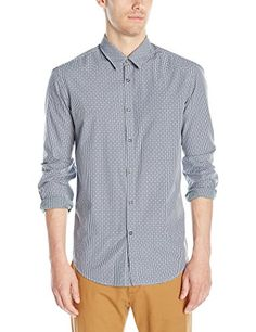 BOSS Green Mens Buster Vichy Check Long Sleeve ButtonDown Shirt Night Watch XXLarge -- Check this awesome product by going to the link at the image.