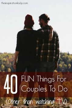 Love this forty FUN Points for Couples to Do Collectively - The Inspiration Woma. Take a look at even more by visiting the picture Couples Things To Do, Hobbies For Couples, Fun Things, Couple Things, Romantic Things, Rc Hobbies, Couple Stuff, Romantic Ideas, Awesome Things
