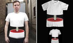 3D Spine T-shirt