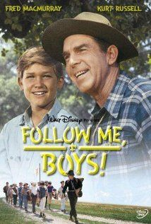 Follow Me, Boys!, 1966. My favorite Disney film from when I was a kid. Young Kurt Russell!