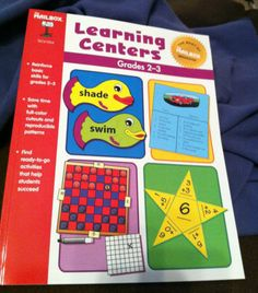 Best of The Mailbox: Learning Centers Book Grades 2-3 ~~Ideas That Reinforce Basic Skills | eBay In My Store: Auction Price starting @ 5.00...for this Brand New Book!  Wonderful Present for That Special Teacher Friend!