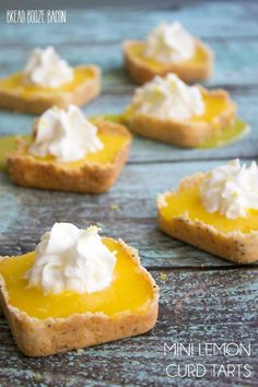 Mini Lemon Tarts - M