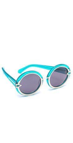 Karen Walker Orbit Sunglasses | SHOPBOP