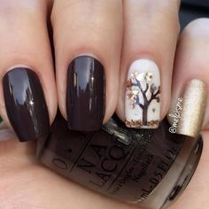 Today we have 30 of the Best Fall Nail Art Designs! Nail Art is our favorite but fall nail art is even better! We love the fall season and really love the color choices that these lovely nails utilize to create the vibe. Chic Nail Designs, Fall Nail Art Designs, Acrylic Nail Designs, Acrylic Nails, Coffin Nails, Fingernail Polish Designs, Elegant Nail Designs, Chic Nails, Trendy Nails