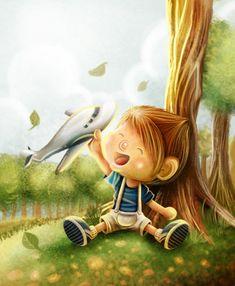 Children Illustrations by Evan Raditya Pratomo