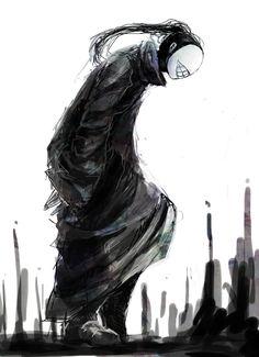 Tokyo Ghoul -Noro,cara foda das curas lokas