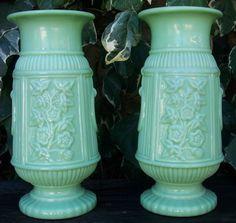 Vases en Opaline année 30