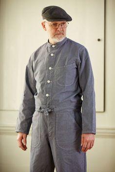 Jacket & Trousers in Cotton Stripe