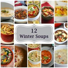 Today on Parade - 12 Must Make Soups To Warm-Up Your Winter Menu - Nothing warms the heart and soothes the soul like a steamy bowl of soup on a cold winters day.