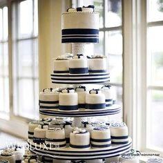 nautical wedding cupcakes - Google Search