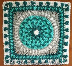 Ravelry: Peony Mandala Square pattern by Dorianna Rivelli
