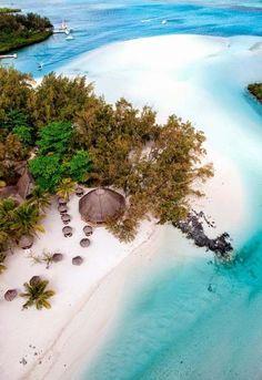 Mauritius beach island
