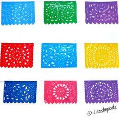 Amazon.com: Multicolor Mexican Party Plastic Banner: Home & Kitchen