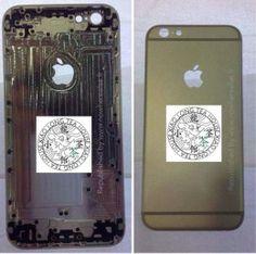 Novos vazamentos mostram traseira e lateral do iPhone 6