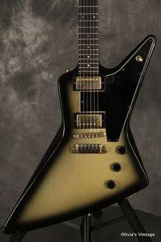 Gibson E2 Explorer 2 1981 Silverburst