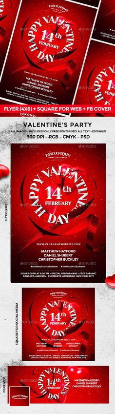 Valentines Day #club #creative #event #flyer #love #loveday #loveflyer #loveposter #modern #music #nightclub #party #poster #print #psd #template #valentines #valentinesday #valentinesflyer #valentinesposter #valentines #valentinesday