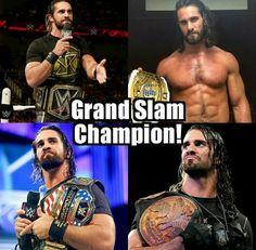 Wwe Seth Rollins, Seth Freakin Rollins, Wrestlemania 2018, Wwe Birthday, Jeff Hardy, Wwe Champions, Championship Rings, Charlotte Flair, Aj Styles