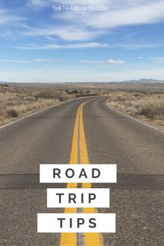 Road trip tips from a savvy business traveler.