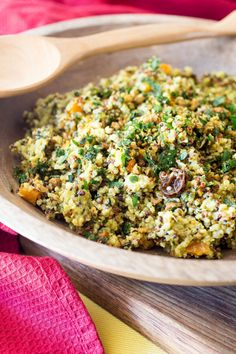 This is a flavour packed salad that will impress family and friends. Serve it as a side dish with grilled chicken or bring to a party for something unique. Healthy Salads, Healthy Eating, Healthy Recipes, Keeping Healthy, Healthy Habits, Healthy Food, Couscous Recipes, Salad Recipes, Moroccan Salad