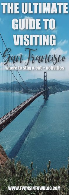 Want to visit San Francisco, but don't know where to go or what to do? I've created an ultimate guide to visiting San Francisco, that will you give breakfast, lunch and dinner ideas, and fun activities all throughout the city. Travel Articles, Travel Advice, Travel Tips, Canada Travel, Usa Travel, Travel Europe, Solo Travel, Luxury Travel, Us Travel Destinations