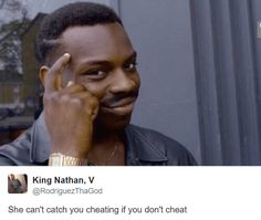 Instead of wondering why men cheat, sooth your sorrows with the best bad marriage memes and cheating memes. Atkins, Roll Safe Meme, Why Men Cheat, Dankest Memes, Funny Memes, Online Gaming Sites, Bad Marriage, A Court Of Mist And Fury, Sarah J Maas