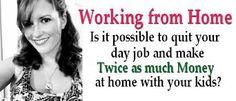 As a mom, finding a work-at-home job can seem like a great way to achieve some work-life balance. Here's how to avoid scams and find a work-at-home job that's a smart fit. Work From Home Moms, Make Money From Home, Way To Make Money, Make Money Online, Joe Montana, Iowa, Illinois, Writing Jobs, Secret To Success