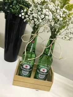 Bar, Boteco, Cerveja, Heineken Beer Birthday Party, 50th Party, Bbq Party, Diy Birthday, Ideas Decoracion Cumpleaños, Birthday Decorations, Diy Wedding Decorations, Mexican Party, Its My Bday