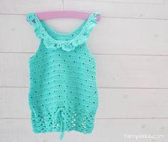 Free Pattern – Little Girls Crochet Top