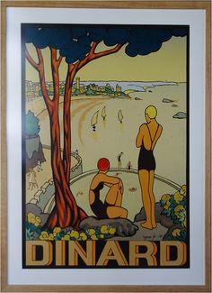 Dinard à l'affiche - exposition villa Roches Brunes - Photos Côte d'émeraude et ailleurs au gré du vent.