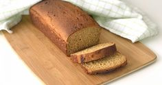 Bread Baking, Grain Free, Banana Bread, Smoothies, Goodies, Food And Drink, Low Carb, Gluten Free, Breakfast