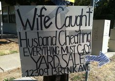 Top 18 Funniest Yard Sale Signs