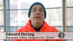 CDL Drivers for Delaware Valley Shippers Inc Ed Herzog