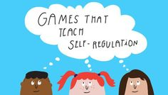games that teach self regulation - When it comes to our kids, experts believe that kids who master self-regulation become masters of their learning, are more critical thinkers, and make healthier choices; and the benefits are life-long. Elementary School Counseling, School Social Work, School Counselor, Social Emotional Development, Social Emotional Learning, Emotional Regulation, Self Regulation, Therapy Activities, Activities For Kids