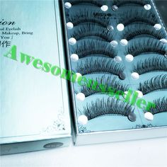 30Pairs Soft Natural Handmade Eye Lash Makeup Charming False Eyelashes #252B #MissDaisy