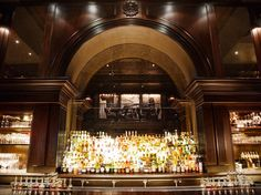 There are several spaces for imbibing within this chic hotel, located north of Madison Square Park (hence the name). There