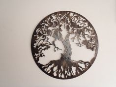 Tree Of Life Antique Look 29 in diameter by Tibi291 on Etsy This only larger for great room