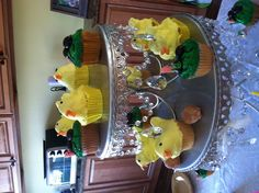 Chick Cupcakes, they came out so cute!