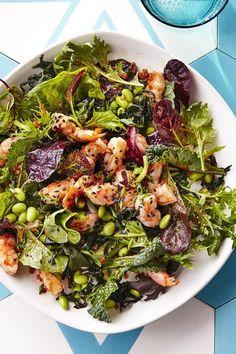 Swap up this quick seafood classic for a new twist on a shrimp dinner.#shrimprecipes #shrimp #seafoodrecipes #recipes Poke Recipe, Healthy Meals, Healthy Recipes, Seafood Dishes, Shrimp Recipes, Vegetable Pizza, Delish, Food Ideas, Mood