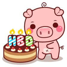 Create your own personal Sticker packs for WhatsApp! Send cool stickers in WhatsApp and spice up the boring group chats! Share single stickers or entire sticker packs! Pig Images, Kitty Images, This Little Piggy, Little Pigs, Happy Birthday Pig, Pig Sketch, Kawaii Pig, Wonder Art, Pig Drawing