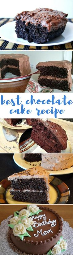 """""""this has been one of my go to cakes when I need chocolate cake for the past two or three years."""""""
