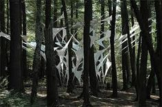 Image result for art in the forest