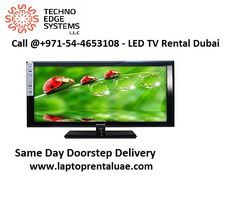 Techno Edge Systems is a leading company provides high quality, branded LED Screen & LED TV Rental. Approach us at +971-54-4653108 for LED TV Rental in Dubai.