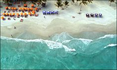 Beache Venezuela Margarita Island | Aerial shot of a Margarita Island Beach, Venezuela | Flickr - Photo ...