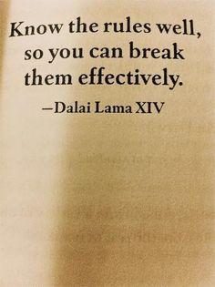 Dalai Lama  like this one!!!