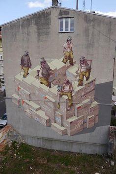 Sepe x Chazme New Mural In Bydgoszcz, Poland