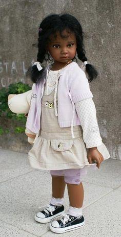 Виниловые куклы OOAK Анжелы Суттер (Angela Sutter) / Коллекционные куклы Angela Sutter / Бэйбики. Куклы фото. Одежда для кукол